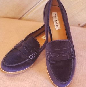 Steve Madden  penny loafers